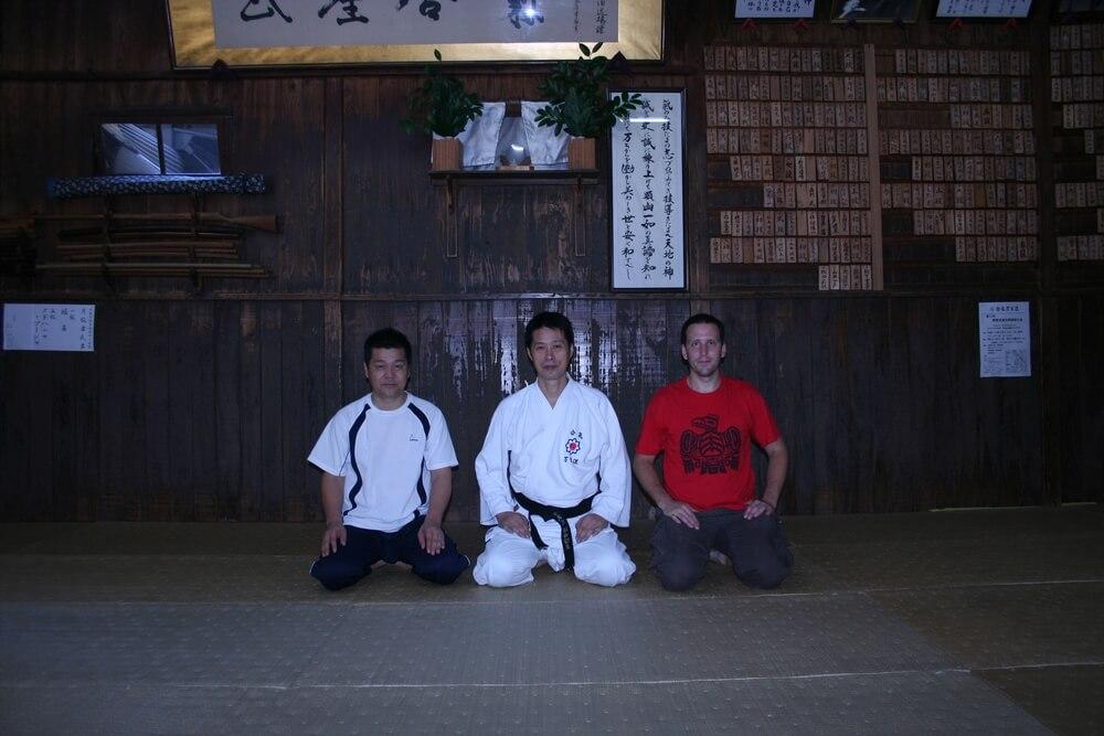 Dojo Kanshu Sunadomari senseie - Kumamoto, Japonsko