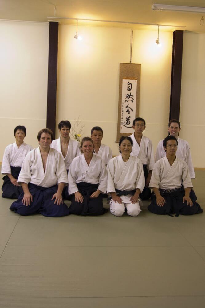 Okamoto sensei - Kyoto, Japonsko 2012