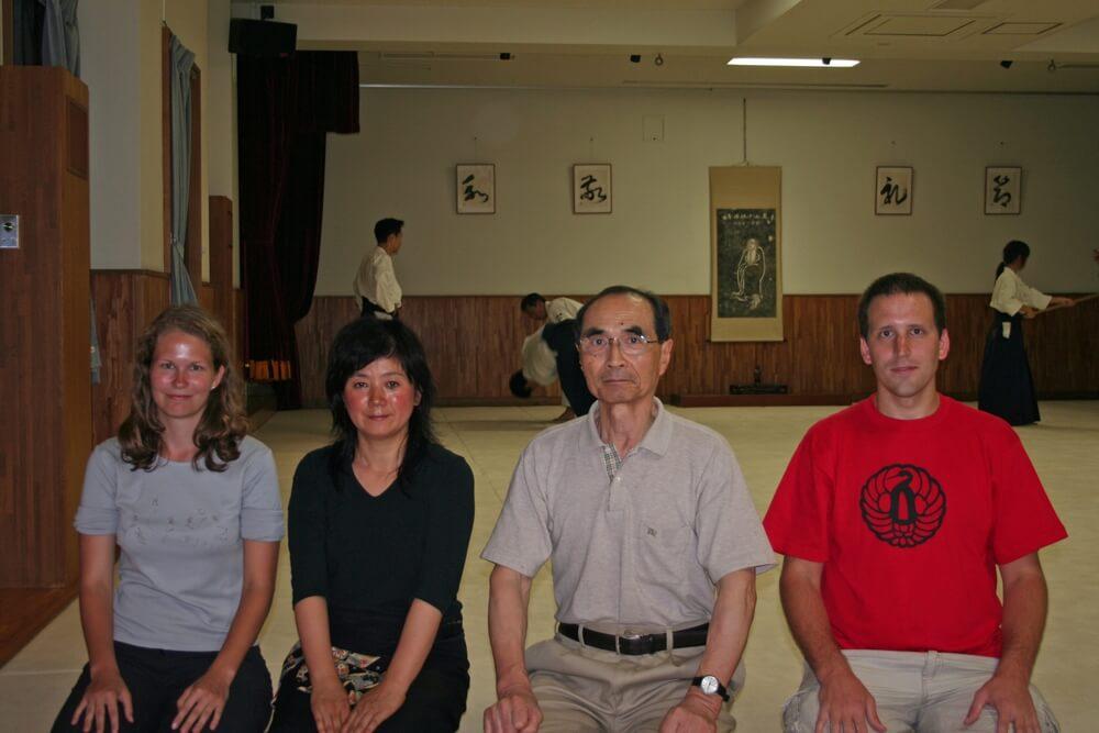 Tada sensei -  Gessoji dojo,Japonsko, 2007