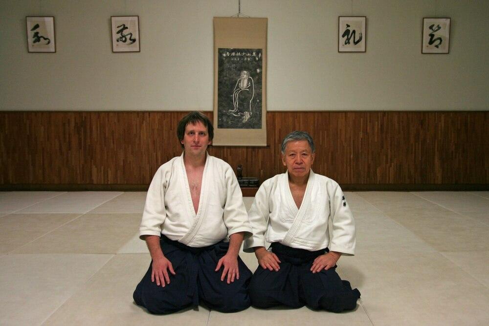 Tsuboi sensei - Gessoji dojo,Japonsko, 2012