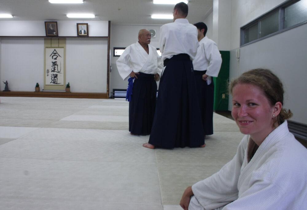 Watanabe sensei - Hombu dojo, Japonsko, 2007